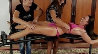 Sandra Tied and Tickled 04