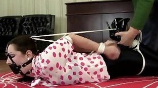 OfficePerils - Belle Davis - Hogtied Frogtie And.Ballgagged