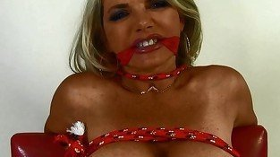 Vicky Vette - Tied Up &amp, Teased!