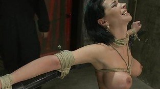 Bondage,  Vaginal Orgasms and Rope around his