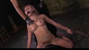 FetishNetwork Marsha May rough slave training