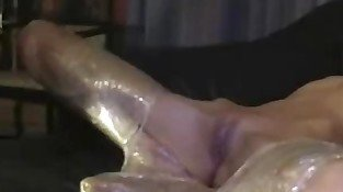 Amazing homemade dildo masturbation