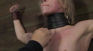 Petite blonde BDSM sub Sarah Jane Ceylon on s