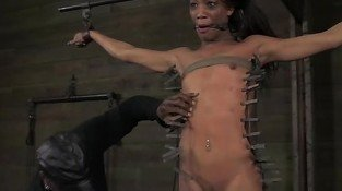 BDSM sub Nikki Darling in plenty of pain