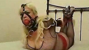 Hogtied & Ball Gagged