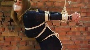 Tape Gagged & Rope Bondage