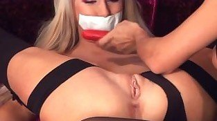 Tape Gagged & Bound