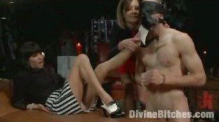 Femdom BDSM Foot Fetishes Trampling and Strapon