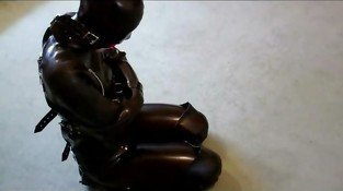 Adreena Booted Hooded and Straitjacketed Compilation