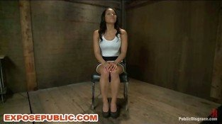Public Dungeon Latina Slave Group BDSM