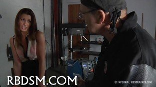 Slave gets vicious drilling bdsm 10