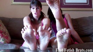 We are into showing off our feet