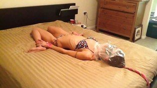 Skinny Hogtied Bagged Hard