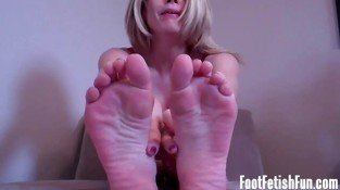 My feet are making your hard arent they?