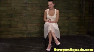 European strapon sluts roughsex with mistress