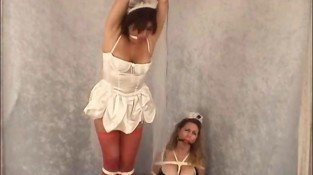 The naughty maids needs to be punished