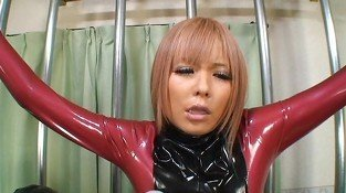 Japanese Latex Catsuit 37