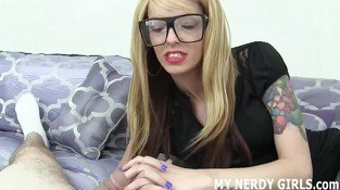 Let me give you an afterschool handjob JOI